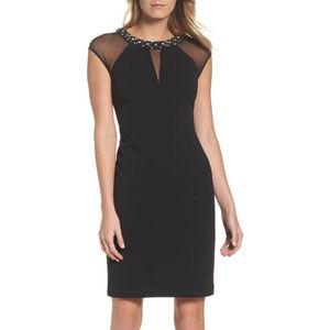 Eliza J Embellished Sheath Dress S.14